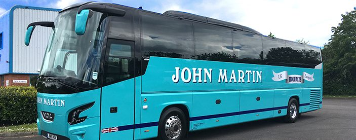 coach travel john martin