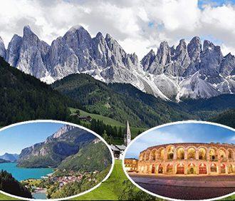 Northen Italy, Coach Tour