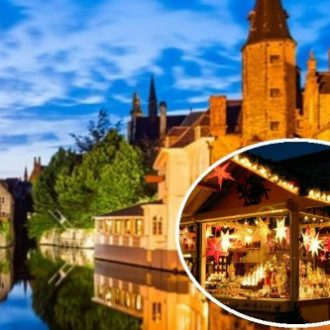 Ypres & Bruges Christmas Markets Coach Tour