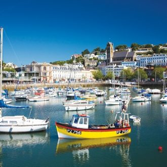 Europe, UK, England, Torquay, Torquay Harbour